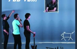 predný strana booklet