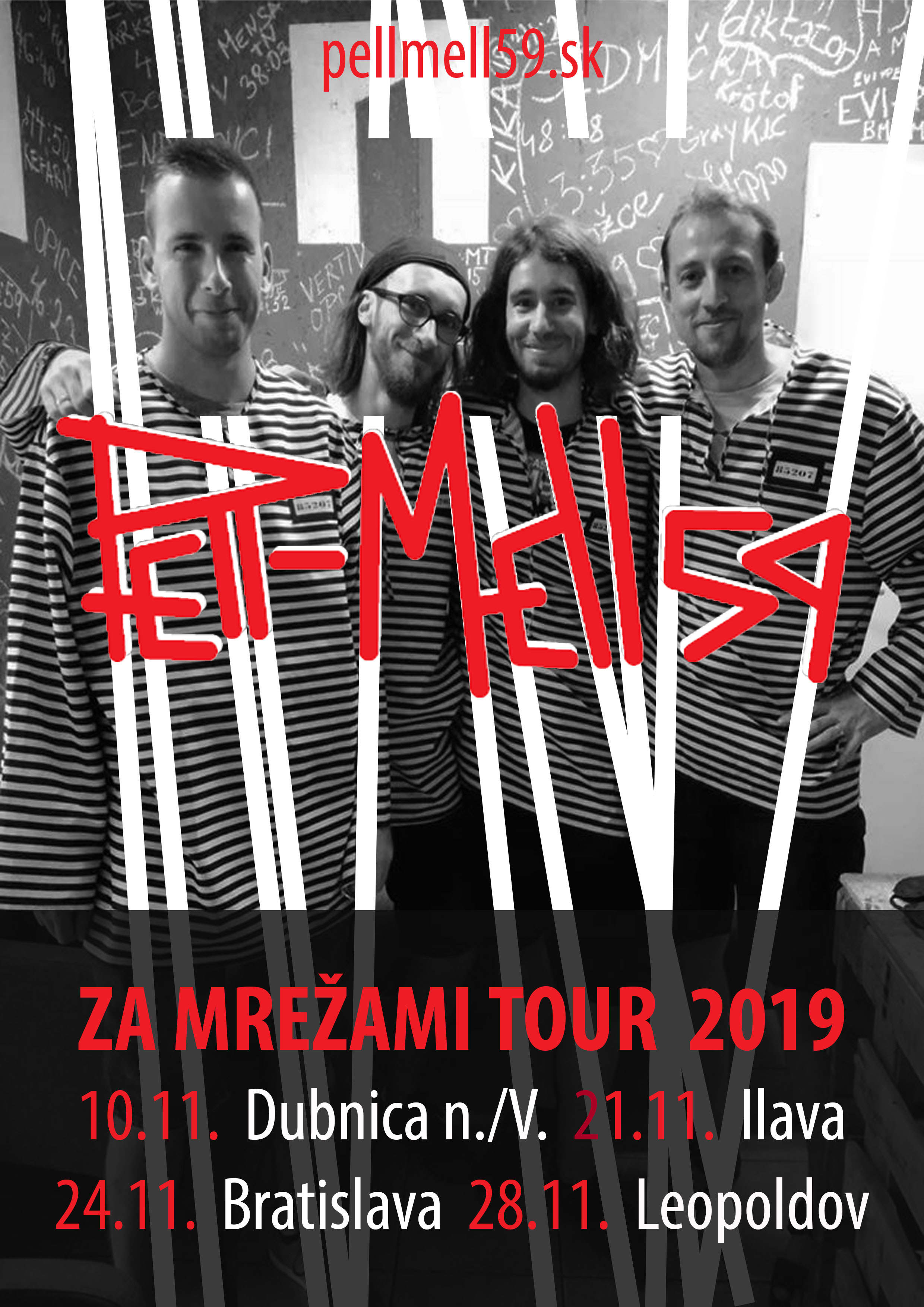 a4 za mrežami tour 2019